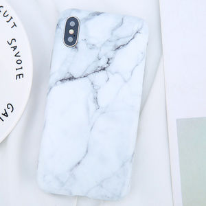 Accessories - White Marble iPhone Case 7 8 Plus X XS XR Max